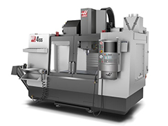 gray and silver Haas VF-4 SS Machining Center